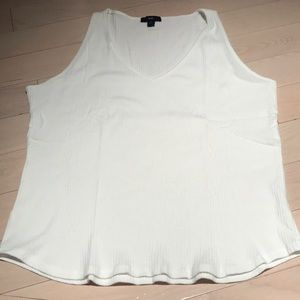 White Gap Sweater Tank Size XL